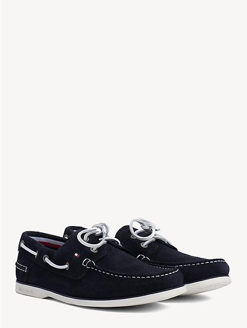 4021d55c4604 TOMMY HILFIGERClassic Suede Boat Shoes. £85.00