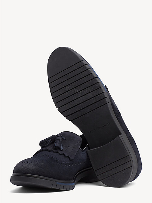 TOMMY HILFIGER Flexible Brogue Loafers - MIDNIGHT - TOMMY HILFIGER NEW IN - detail image 1