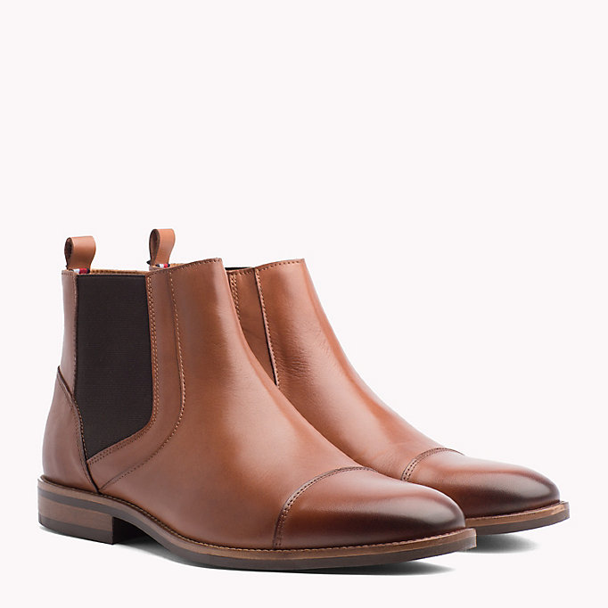 649e05dffdc6 Essential Zip-Up Chelsea Boots. TOMMY HILFIGER