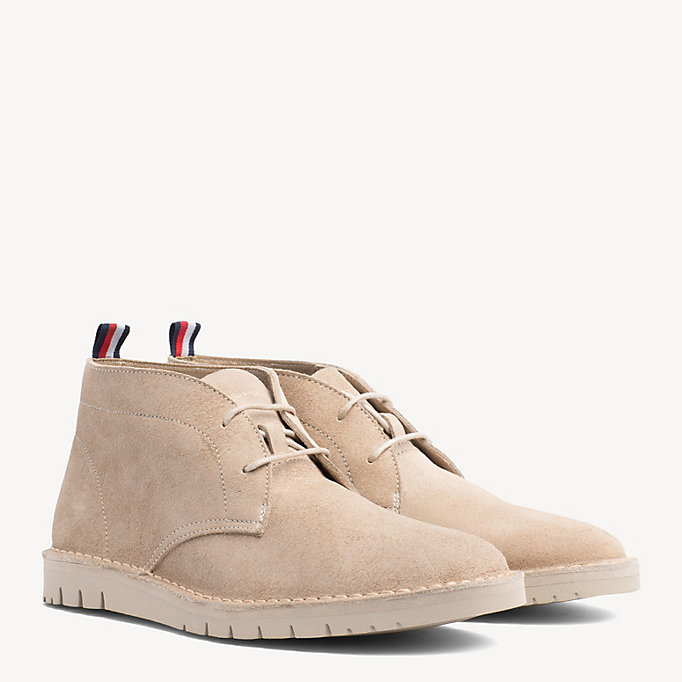 72dab7f2f77669 Suede Desert Boots. TOMMY HILFIGER
