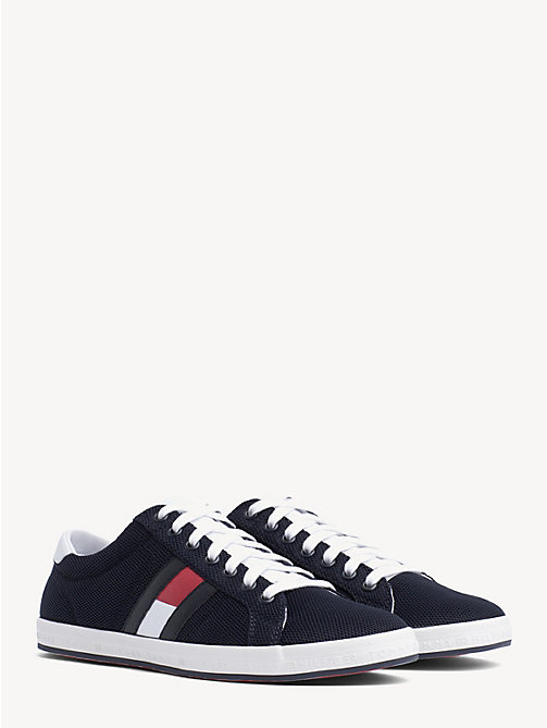 TOMMY HILFIGER Baskets Essential colour-block à motif drapeau - MIDNIGHT - TOMMY HILFIGER Baskets - image principale