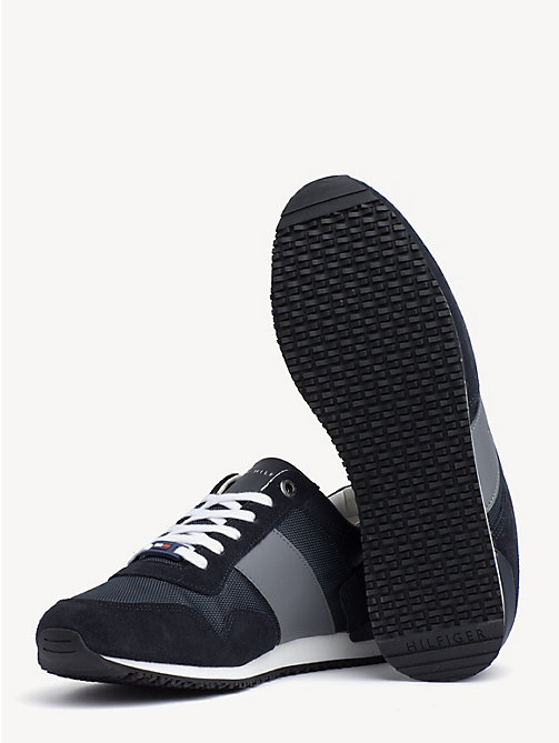 772d0b81 zapatillas deportivas icon con mezcla de materiales blue de hombre tommy  hilfiger. NUEVO