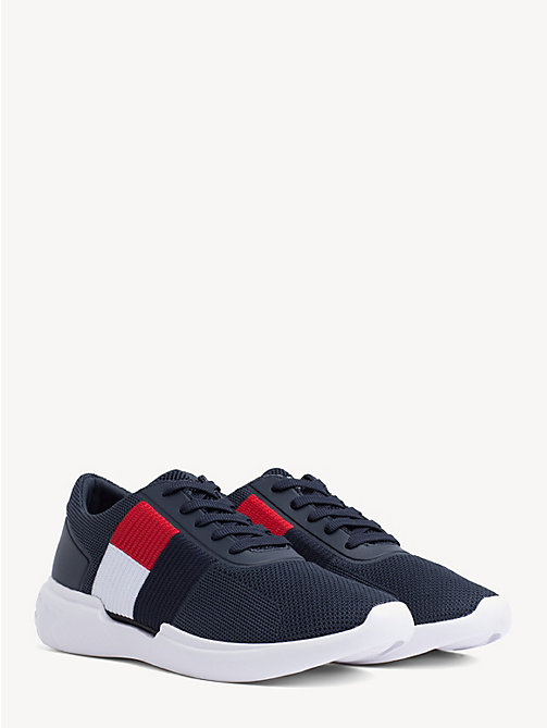 66e6fab5 TOMMY HILFIGERLightweight Knitted Flag Trainers. €119.90
