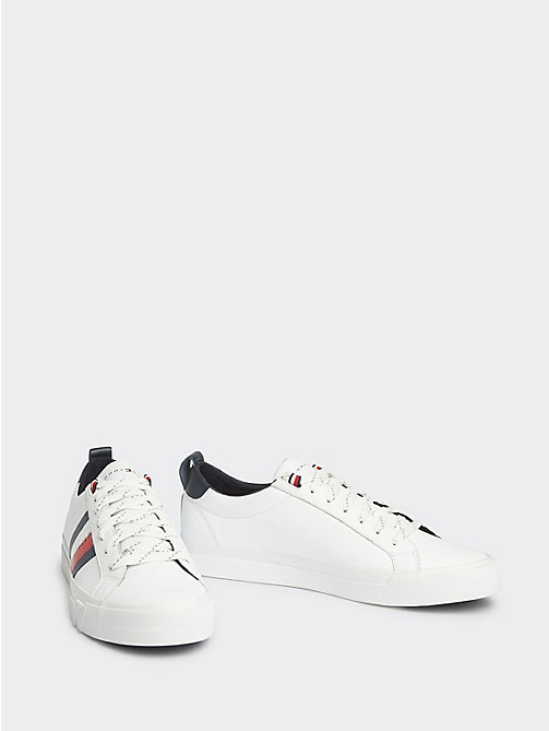 Sneakers Tommy Hilfiger Uomo – Sneakers stringate in tela white