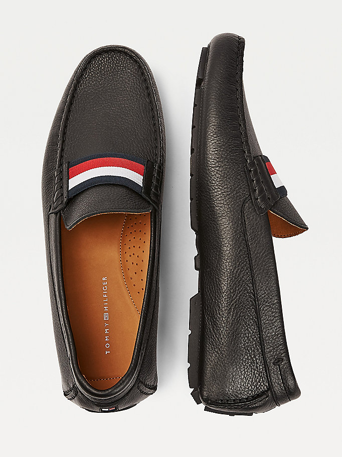 Tommy Hilfiger Signature Leather Mix