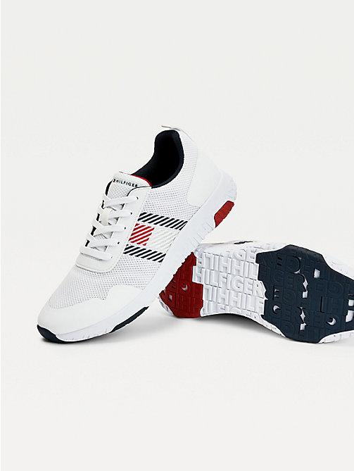 Tommy Hilfiger Jeans Blake 10c Sneaker 42 Weiß Neu Herren Schuhe Sportschuhe