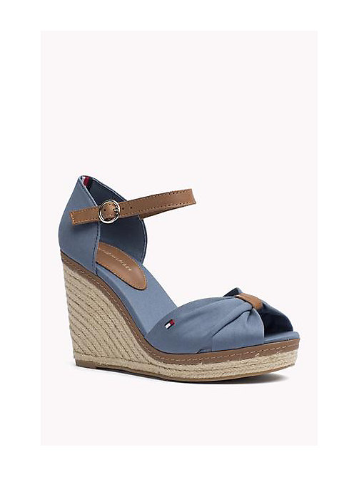 TOMMY HILFIGER Iconic Elena Sandals - JEANS - TOMMY HILFIGER Heeled Sandals - main image