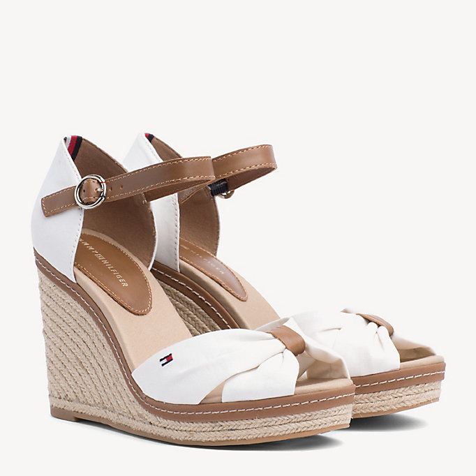 TOMMY HILFIGER Iconic Elena Sandals - COBBLESTONE - TOMMY HILFIGER Women - main image