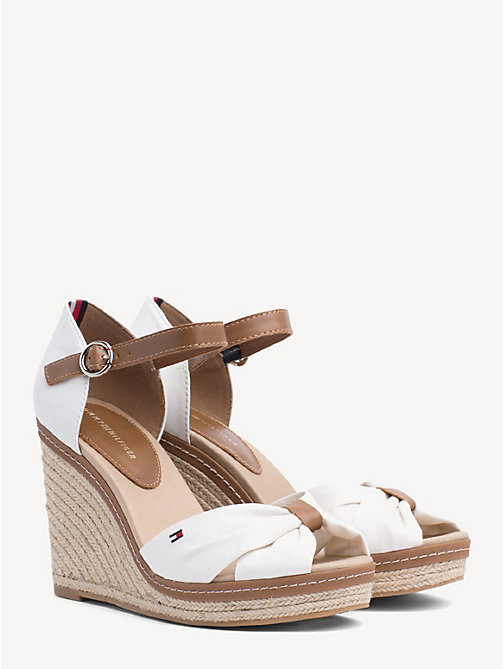 TOMMY HILFIGER Iconic Sandals - WHISPER WHITE - TOMMY HILFIGER Wedges - main image