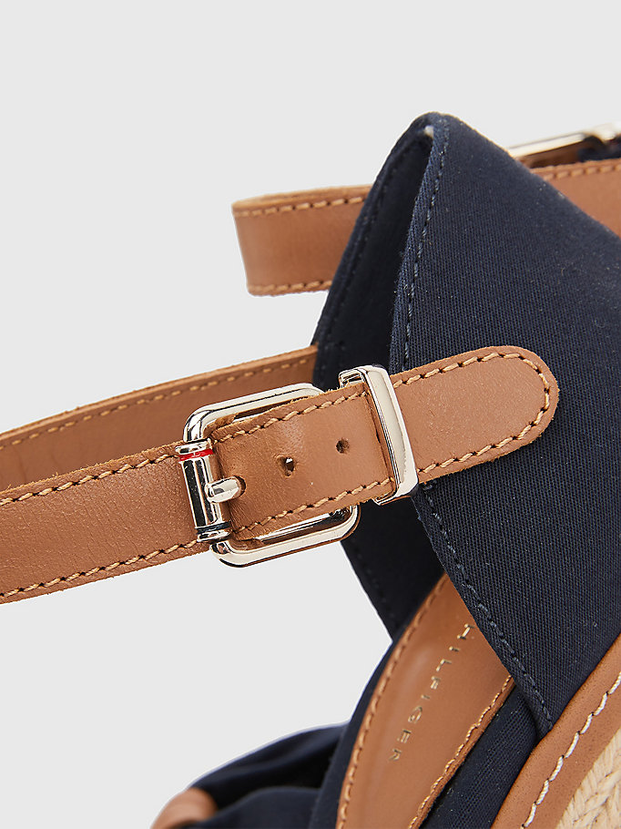 TOMMY HILFIGER Iconic Elena Sandals - TANGO RED - TOMMY HILFIGER Women - detail image 3