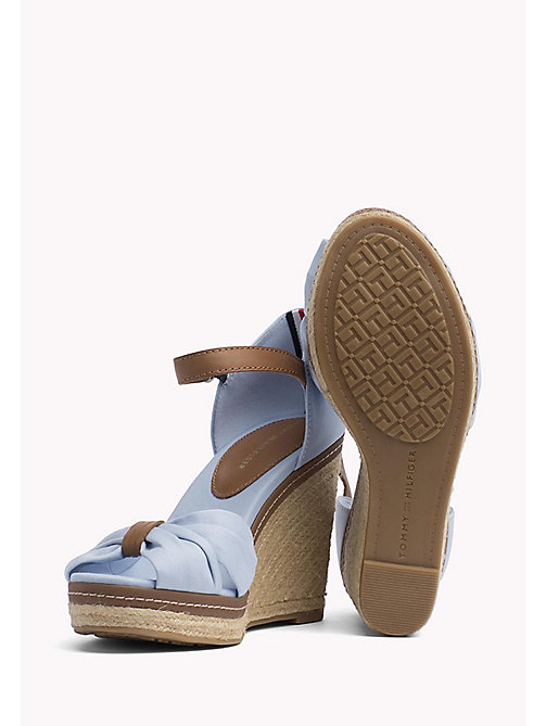 TOMMY HILFIGER Iconic Elena Sandals - CHAMBRAY BLUE - TOMMY HILFIGER Wedges - detail image 1