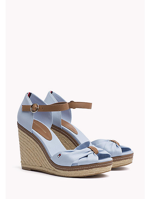 TOMMY HILFIGER Iconic Elena Sandals - CHAMBRAY BLUE - TOMMY HILFIGER Heeled Sandals - main image