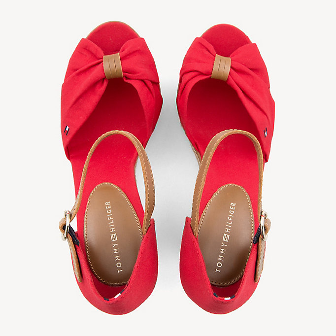 TOMMY HILFIGER Iconic Elena Sandals - WHISPER WHITE - TOMMY HILFIGER Women - detail image 3