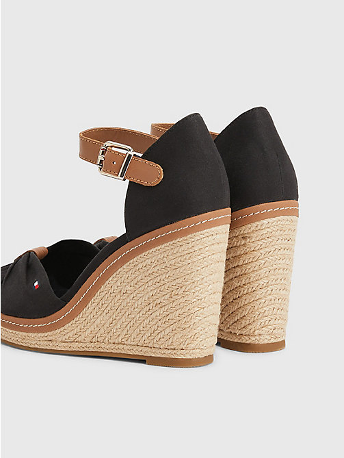 TOMMY HILFIGER Iconic Elena Sandals - BLACK - TOMMY HILFIGER Heeled Sandals - detail image 1