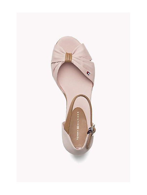 TOMMY HILFIGER Iconic Elba Sandals - DUSTY ROSE - TOMMY HILFIGER Heeled Sandals - detail image 1