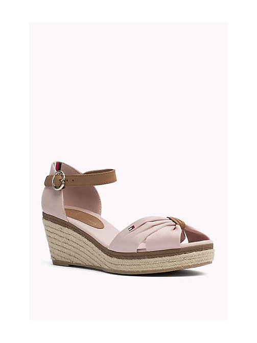 TOMMY HILFIGER Iconic Elba Sandals - DUSTY ROSE - TOMMY HILFIGER Heeled Sandals - main image
