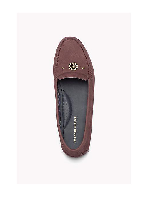 TOMMY HILFIGER Nubuck Loafers - DECADENT CHOCOLATE - TOMMY HILFIGER Shoes - detail image 1