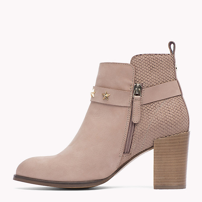 TOMMY HILFIGER Suede Ankle Boot - URBAN GREY - TOMMY HILFIGER Shoes - detail image 2