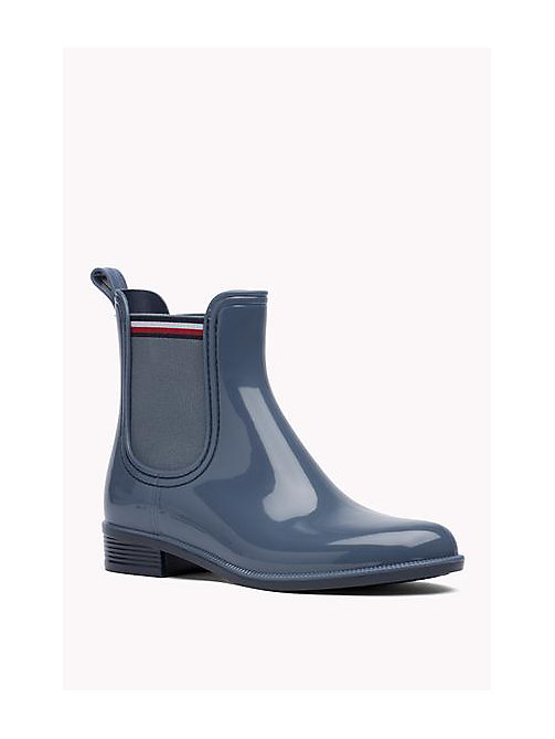 TOMMY HILFIGER Glossy Rubber Boot - JEANS - TOMMY HILFIGER Shoes - main image