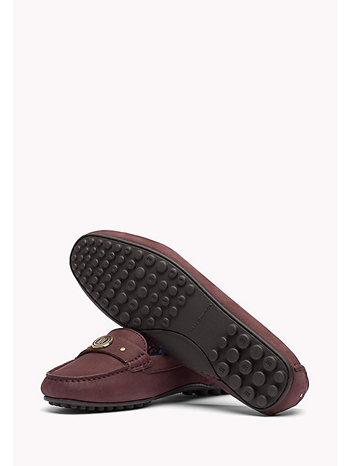 TOMMY HILFIGER Suede Moccasin - DECADENT CHOCOLATE - TOMMY HILFIGER Shoes - detail image 1