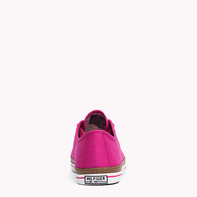 TOMMY HILFIGER Canvas Sneaker - DUSTY ROSE - TOMMY HILFIGER Women - detail image 3