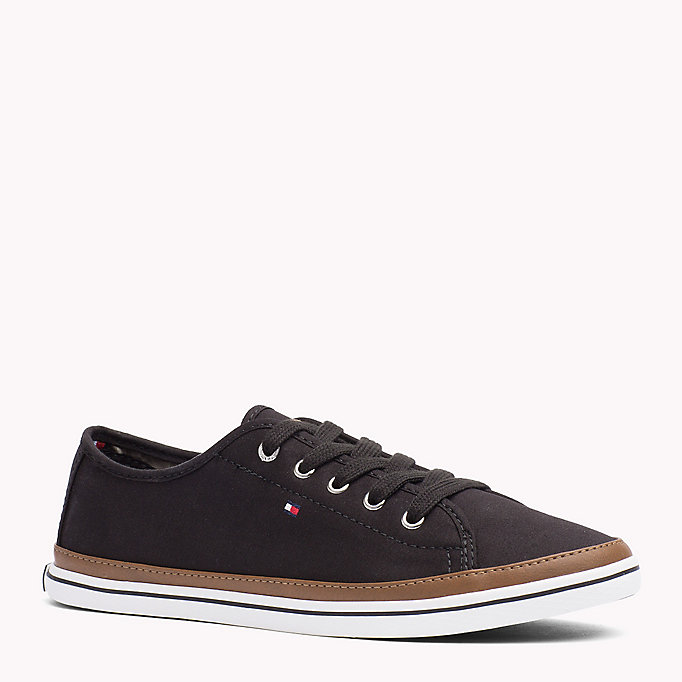 TOMMY HILFIGER Canvas Sneaker - MIDNIGHT - TOMMY HILFIGER Women - main image