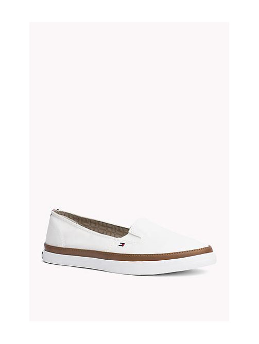 TOMMY HILFIGER Contrast Trim Slip-On Trainers - WHISPER WHITE -  Zapatillas - imagen principal