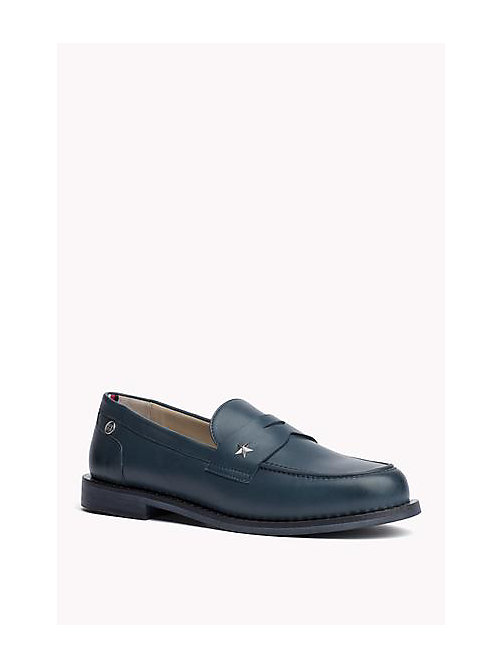 TOMMY HILFIGER Mocassini in pelle - SEATTLE BLUE - TOMMY HILFIGER Scarpe - immagine principale