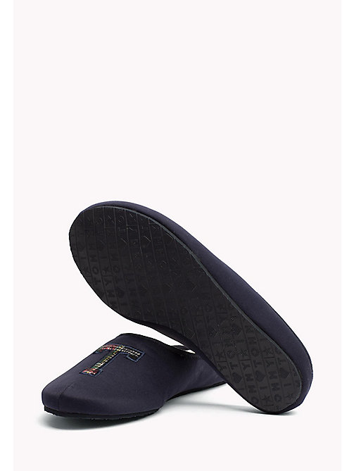 TOMMY HILFIGER Textile Slipper - MIDNIGHT - TOMMY HILFIGER Shoes - detail image 1