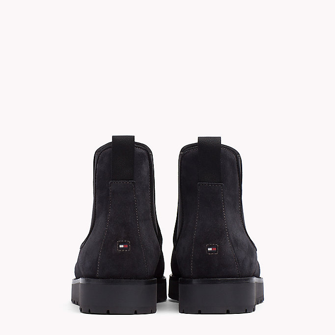 TOMMY HILFIGER Suede Ankle Boot - MIDNIGHT - TOMMY HILFIGER Shoes - detail image 2