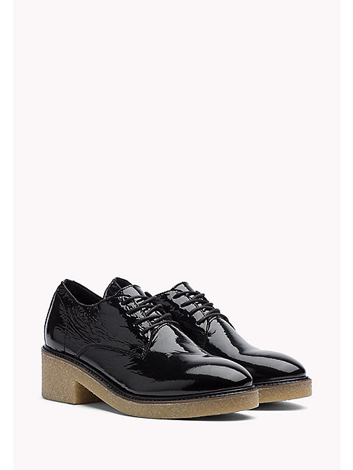 TOMMY HILFIGER Patent Leather Shoe - BLACK - TOMMY HILFIGER Shoes - main image