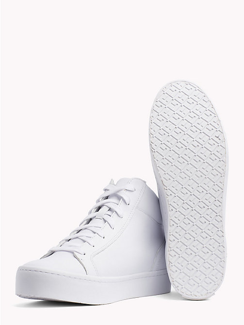 TOMMY HILFIGER High-Top Retro Trainers - WHITE -  Trainers - detail image 1