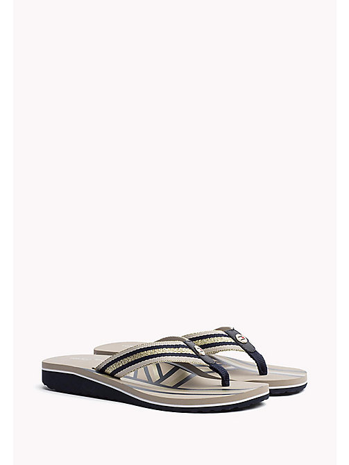 TOMMY HILFIGER Athletic Flip Flop - DESERT SAND - TOMMY HILFIGER Best Sellers - main image