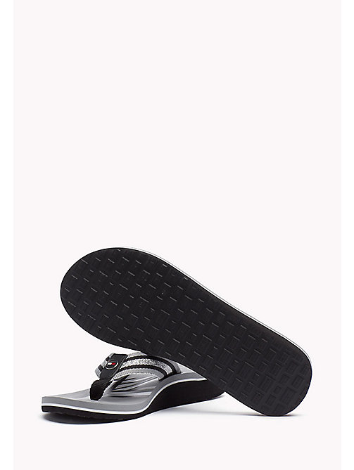 TOMMY HILFIGER Athletic Flip Flop - BLACK - TOMMY HILFIGER Best Sellers - detail image 1