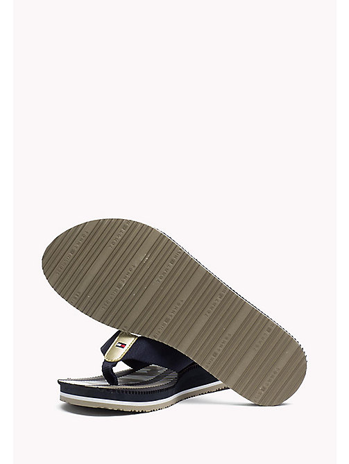 TOMMY HILFIGER Athletic Flip Flop - MIDNIGHT - TOMMY HILFIGER Best Sellers - detail image 1