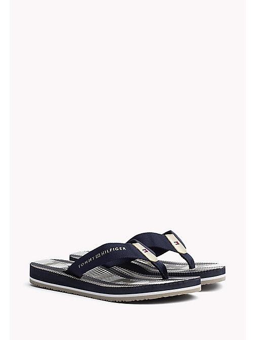 TOMMY HILFIGER Athletic Flip Flop - MIDNIGHT - TOMMY HILFIGER Best Sellers - main image