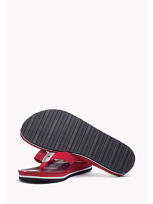 TOMMY HILFIGER Athletic Flip Flop - TANGO RED - TOMMY HILFIGER Flip Flops & Sliders - detail image 1