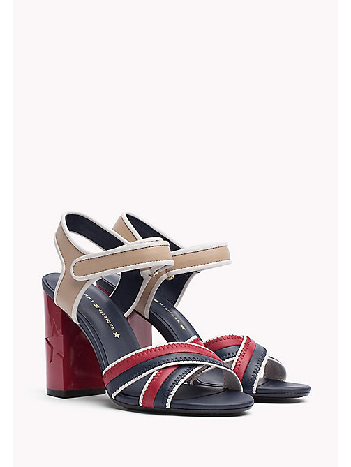 TOMMY HILFIGER Leather Sandal - RWB - TOMMY HILFIGER Sandals - main image