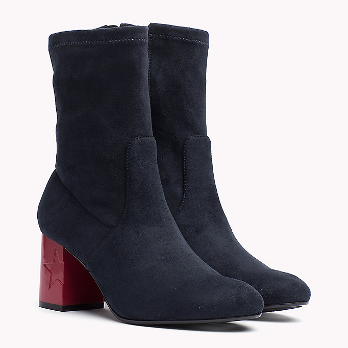 TOMMY HILFIGER Ankle Boot - BLACK - TOMMY HILFIGER SHOES - main image