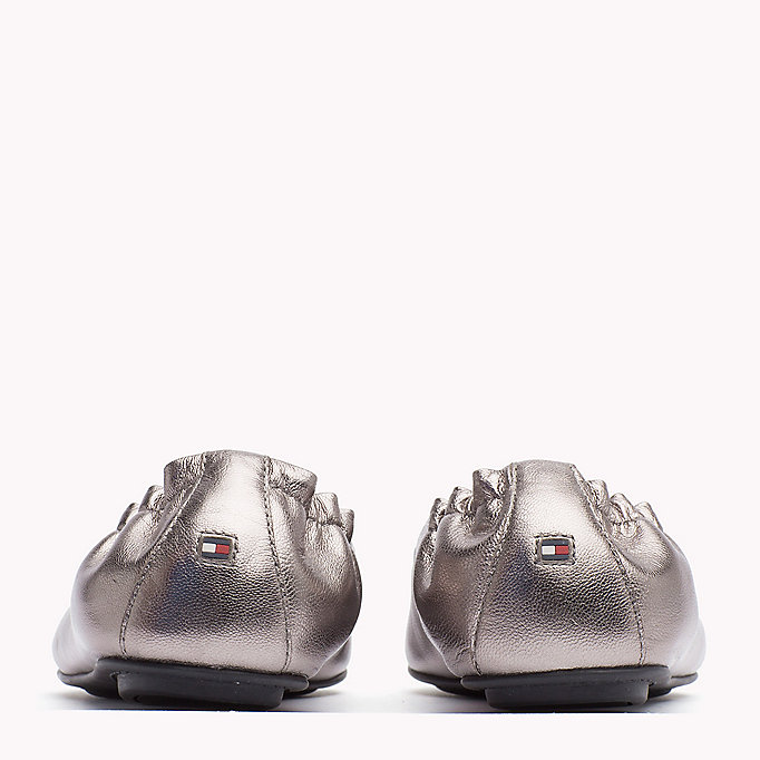 TOMMY HILFIGER Metallic Leather Ballerina - MEKONG - TOMMY HILFIGER Women - detail image 2
