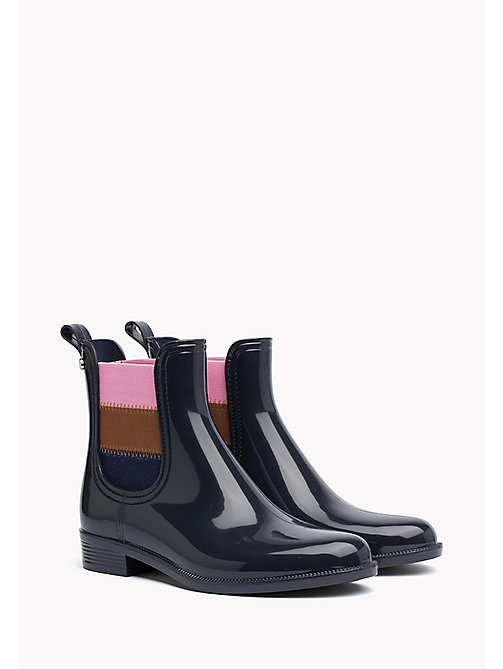 TOMMY HILFIGER Rain Ankle Boot - MIDNIGHT - TOMMY HILFIGER Boots - main image
