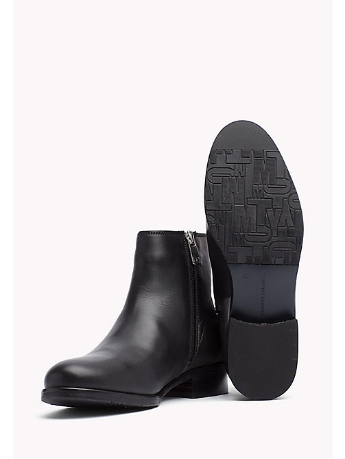 TOMMY HILFIGER Metallic Heel Chelsea Boot - BLACK - TOMMY HILFIGER Boots - detail image 1