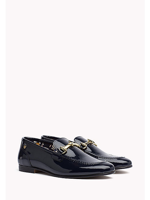 TOMMY HILFIGER Patent Leather Loafer - TOMMY NAVY - TOMMY HILFIGER Moccasins & Loafers - main image