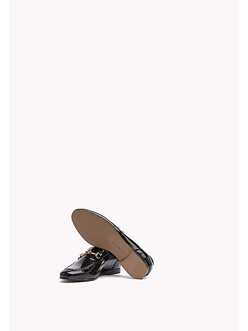 TOMMY HILFIGER Patent Leather Loafer - BLACK - TOMMY HILFIGER The Office Edit - detail image 1