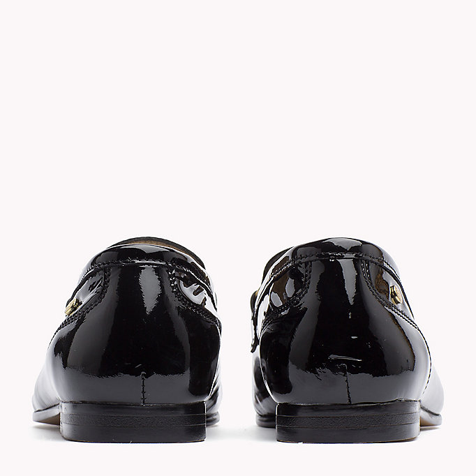 TOMMY HILFIGER Patent Leather Loafer - TOMMY NAVY - TOMMY HILFIGER Women - detail image 2