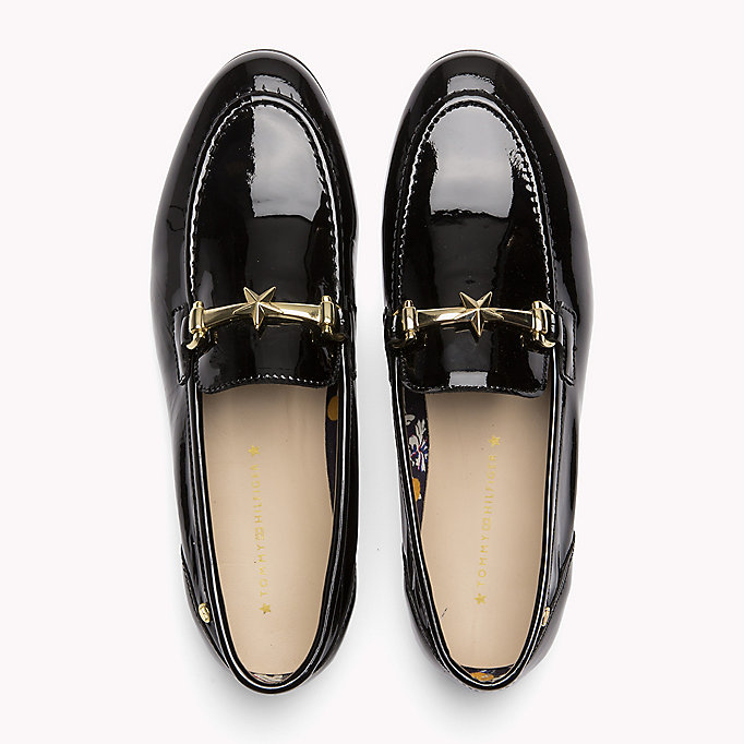 TOMMY HILFIGER Patent Leather Loafer - TOMMY NAVY - TOMMY HILFIGER Women - detail image 3