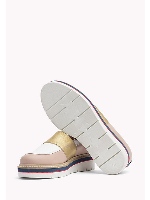 TOMMY HILFIGER Leather Loafer - DUSTY ROSE - TOMMY HILFIGER Shoes - detail image 1