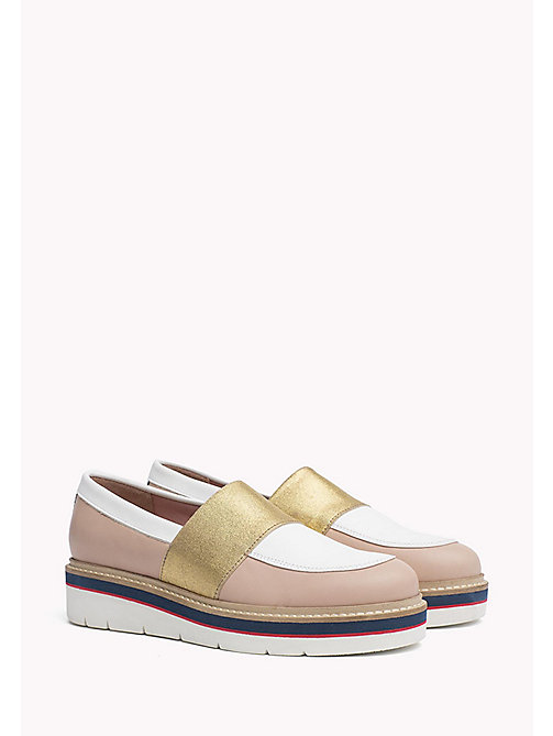 TOMMY HILFIGER Leather Loafer - DUSTY ROSE - TOMMY HILFIGER Moccasins & Loafers - main image