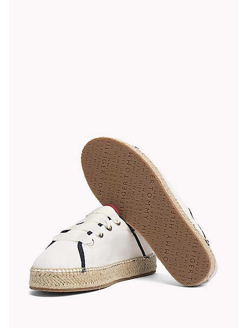 TOMMY HILFIGER Lace-Up Espadrilles - WHISPER WHITE - TOMMY HILFIGER NEW IN - detail image 1