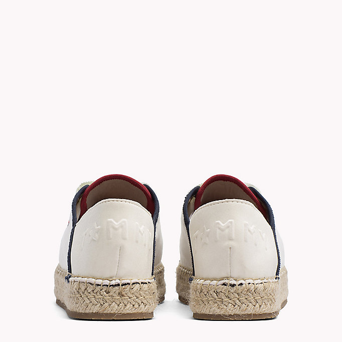 TOMMY HILFIGER Lace-Up Espadrilles - TANGO RED - TOMMY HILFIGER Women - detail image 2